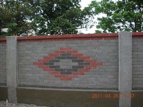 围墙效果图_砖砌围墙效果图_别墅围墙效果图_淘宝 ...